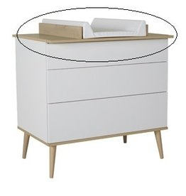Quax Quax - Flow Extensie Commode - White & Oak