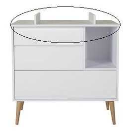 Quax Quax - Cocoon Extensie Commode - Ice White