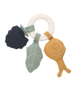 Lassig Lassig Teether Ring rubber Snail