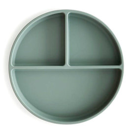 Mushie Mushie Silicone Plate Cambridge Blue