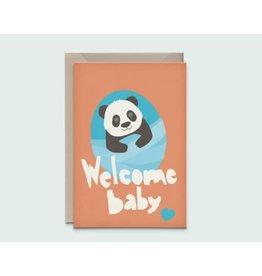 Kathings Kathings kaartje Baby Panda