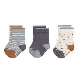 Lassig Lassig Baby Socks Tiny Farmer blue