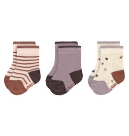 Lassig Lassig Baby Socks Tiny Farmer lila