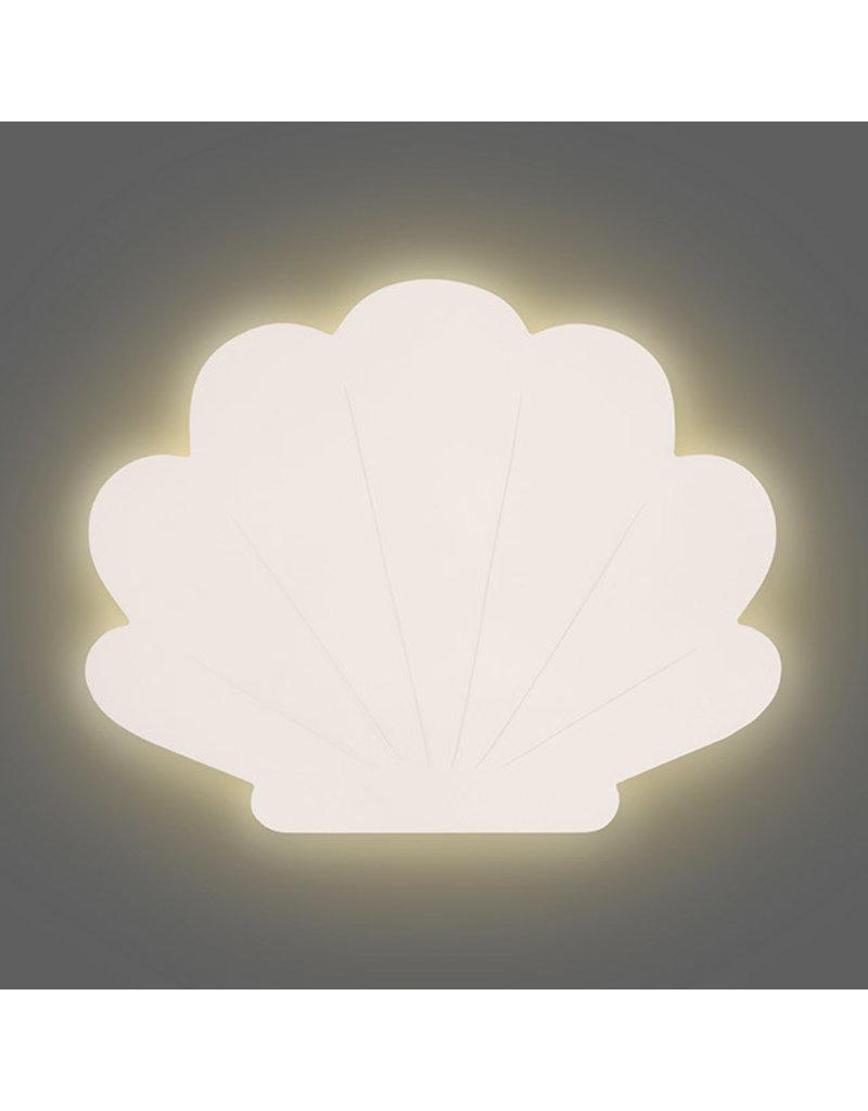 Jollein Jollein wandlamp shell nougat