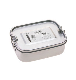 Lassig Lassig lunchbox stainless steel solid yummy