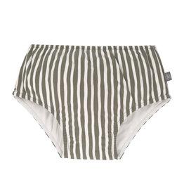 Lassig Lassig Swim diaper Stripes olive