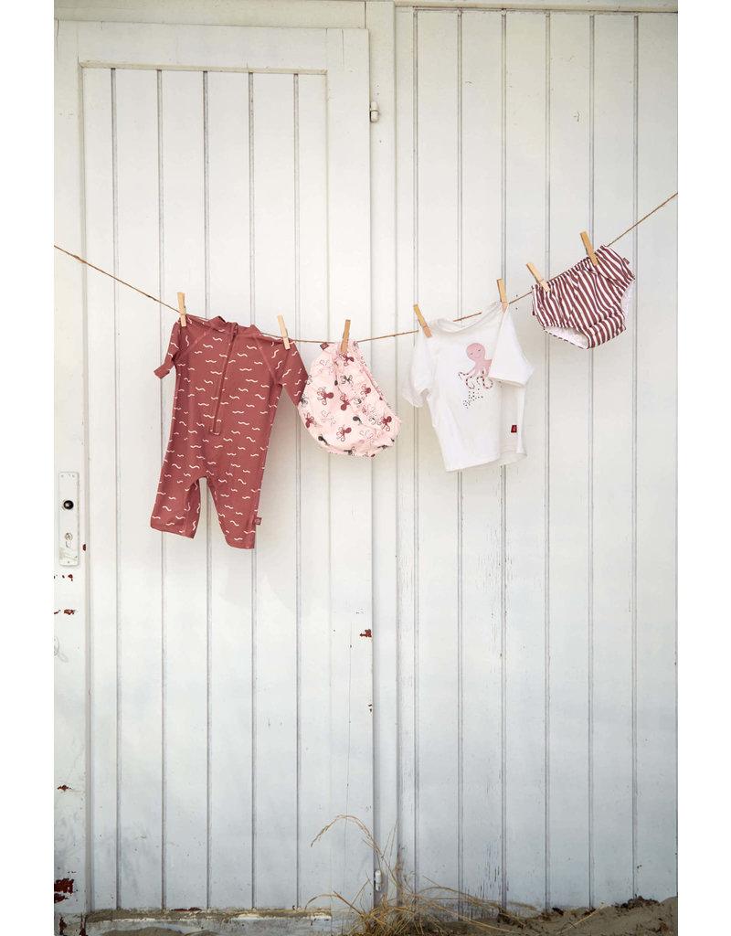 Lassig Lassig Swim diaper Stripes red