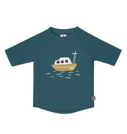 Lassig Lassig short sleeve Rashguard Boat blue