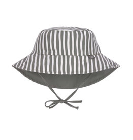 Lassig Lassig Sun Protection Bucket Hat Stripes olive