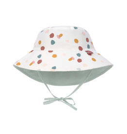 Lassig Lassig Sun Protection Bucket Hat Spotted white