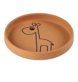 Done by Deer Done by Deer Silicone plate Raffi mustard