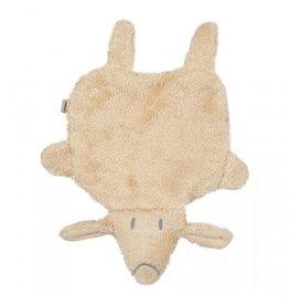Timboo Timboo knuffeldoekje Hug Little Sheep Frosted Almond