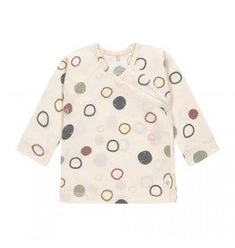 Lassig Lassig Kimono shirt GOTS circles offwhite