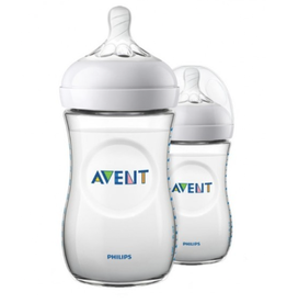 Avent Avent natural zuigfles duo 260ml