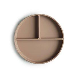 Mushie Mushie Silicone Plate Natural