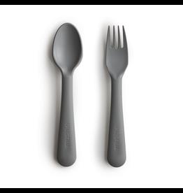 Mushie Mushie Fork and Spoon Smoke