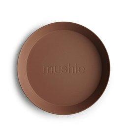 Mushie Mushie Plate Round Caramel