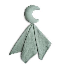 Mushie Mushie knuffeldoekje Moon Roman Green