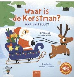Clavis Clavis Geluidenboekje Waar is de Kerstman?