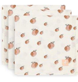 Jollein Jollein Multidoek hydrofiel Peach  3 pack