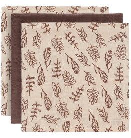 Jollein Jollein Multidoek hydrofiel Meadow Chestnut 3 pack