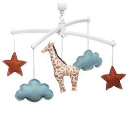 Pouce et Lina Pouce et Lina mobiel Girafe terracotta le lion est mort ce soir