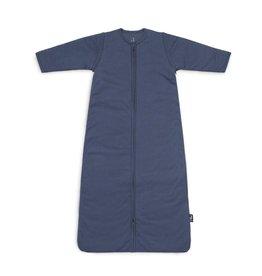 Jollein Jollein Slaapzak basic stripe Jeans blue met afritsbare mouw