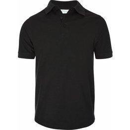 Polo-T-Shirt schwarz Größe S