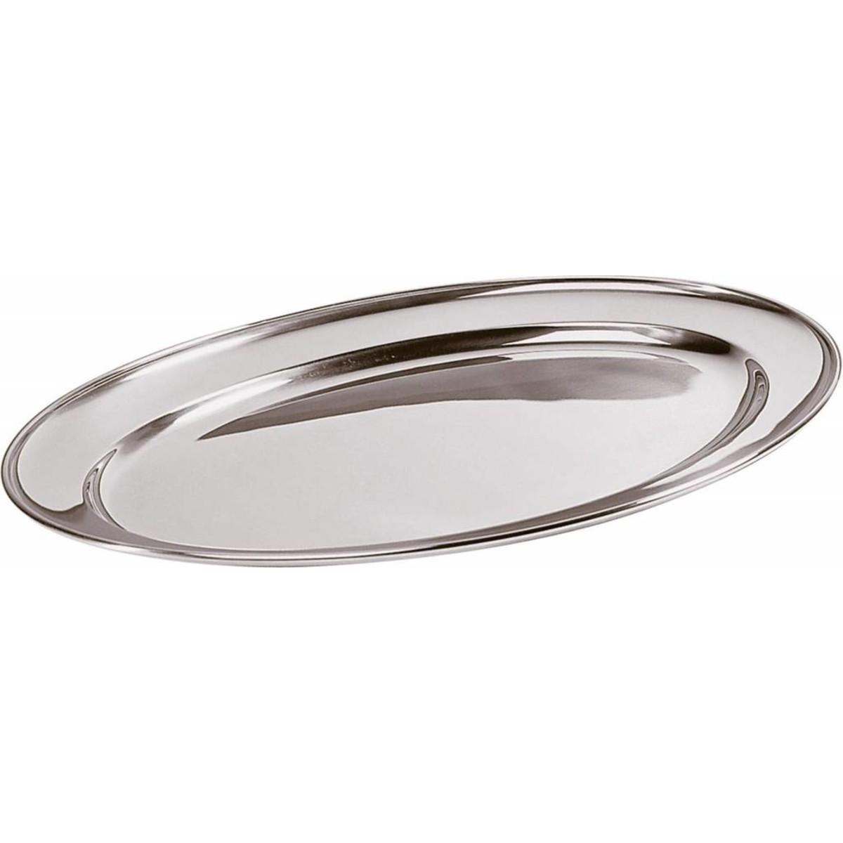 Bratenplatte/Servierplatte oval 45x29,5cm