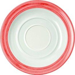 """Tasse untere """"Colour"""" Ø14cm Melamin  cherry-rot"""