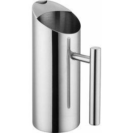 Kanne, Edelstahl 1,0 Liter - NEU