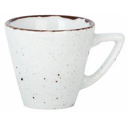 "Porzellanserie ""Granja"" weiß Tasse obere Espresso"