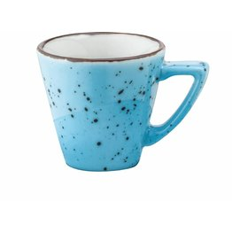 "Porzellanserie ""Granja"" aqua Tasse obere Espresso - NEU"