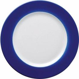 Teller flach 21,5cm blau