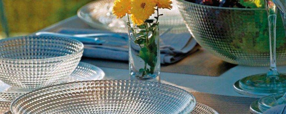 Glasteller / Schalen