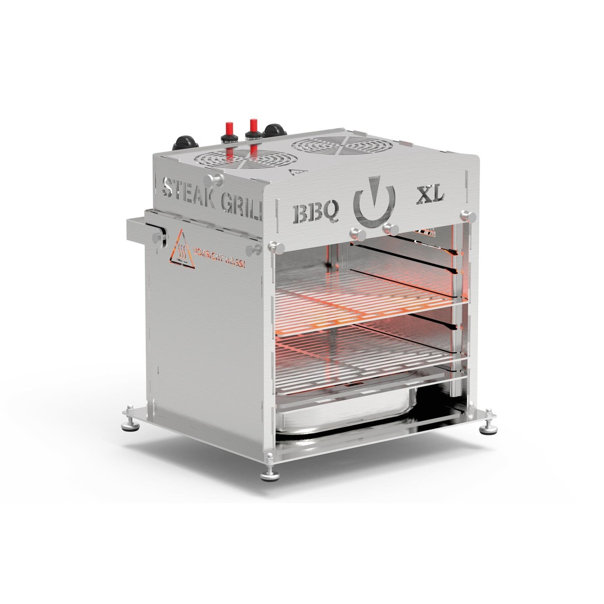 BBQ Oberhitze-Gasgrill 800°C BBQ-XL