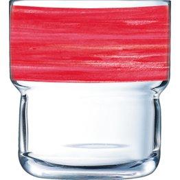 """Glasserie """"Brush"""" Cherry 220ml - NEU"""