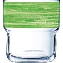 "Glasserie ""Brush"" Grün 220ml - NEU"