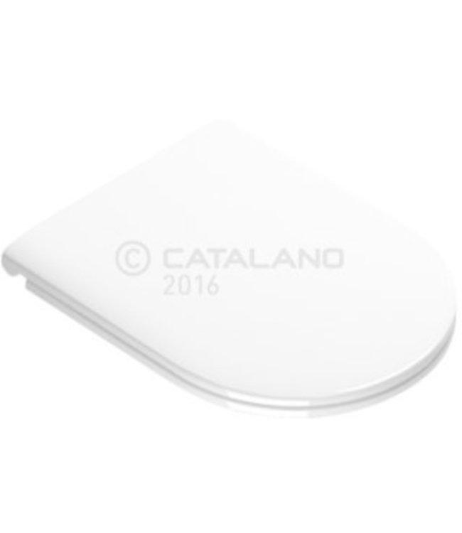 Catalano Catalano Sfera, WC-zitting, soft-close, ECO, duraplast, wit
