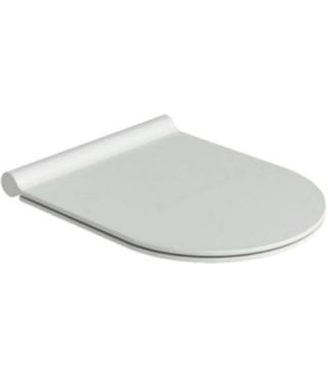 Catalano Catalano Zero / Sfera 55 kunststof closetzitting met deksel en RVS soft close scharnier, mat wit