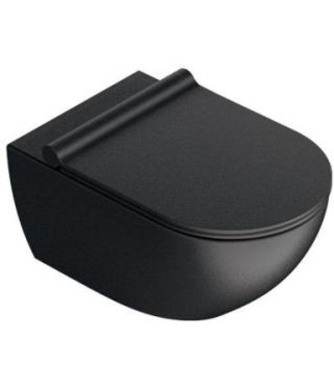 Catalano Catalano Sfera 54x35 newflush wand toilet, kleur mat zwart