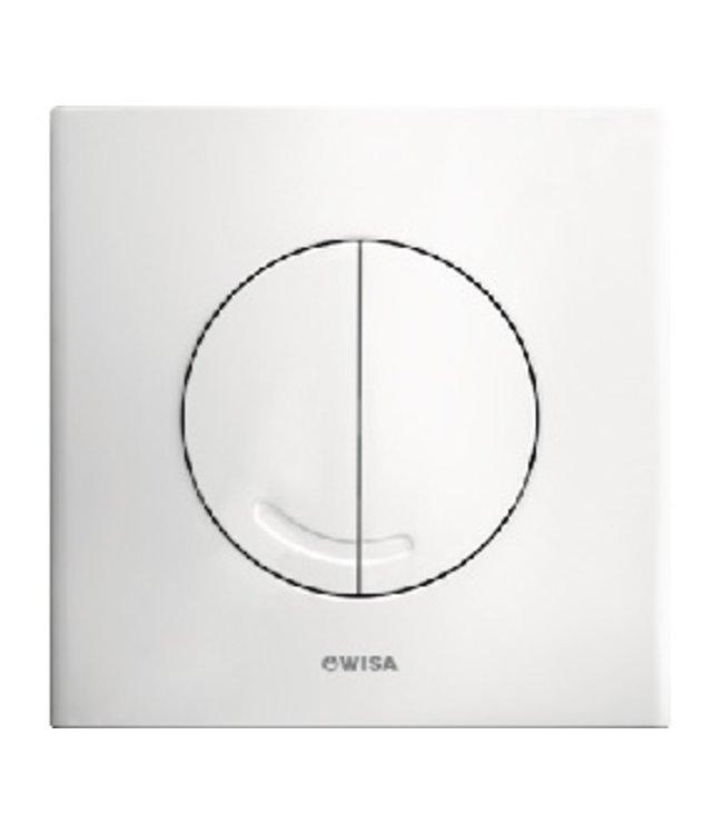 Wisa Wisa XS bedieningsplaat Argos DF 16x16cm kunststof wit