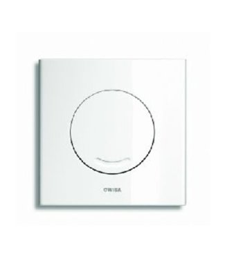 Wisa Wisa XS bedieningsplaat Argos SO 16x16cm kunststof wit