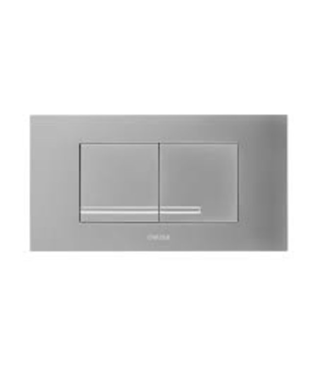 Wisa Wisa XT bedieningsplaat Kantos DF 20.8x11.1cm kunststof glanschroom