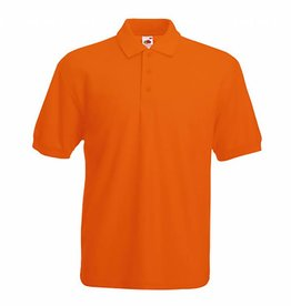 FRUIT OF THE LOOM Polo piqué homme polyester/coton couleurs standard
