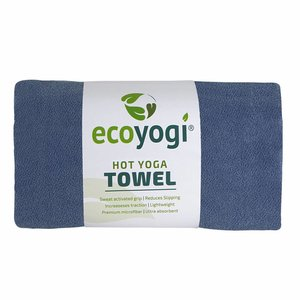 Ecoyogi Hot Yoga Towel - blau