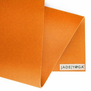 Jade Yoga Harmony Yogamatte 173 cm - Tibetan Orange (5mm)