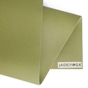 Jade Yoga Harmony Yogamatte 173 cm - Olive green (5mm)