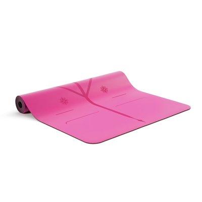 Liforme Gratitude Yogamatte - leuchtend rosa