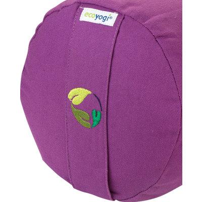 Ecoyogi Yoga-Bolster Lavender, 100% Bio baumwolle